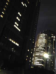 Photo: 副都心のあたり 2004. Tokyo, Contax Tvs Digital, Carl Zeiss Vario Sonnar T* F2.8-4.8/35mm-105.
