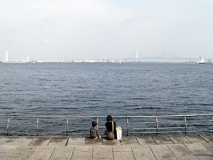 Photo: 横浜港 2005. Contax Tvs Digital, Carl Zeiss Vario Sonnar T* F2.8-4.8/35mm-105.
