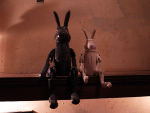 Photo: rabbit brothers 2010. Tokyo, Japan, Ricoh GR DIGITAL III, GR LENS F1.9/28.