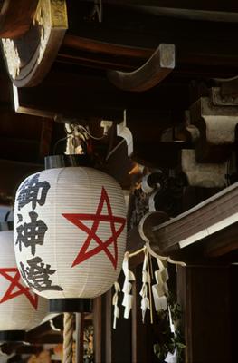 Photo: 清明神社本殿 2002. Kyoto, Japan, Contax RX, Carl Zeiss Vario-Sonnar T* 35-135mm/F3.3-4.5(MM), Kodak EB-2, F.S.2