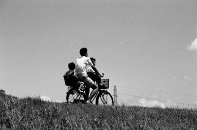 Photo: Photo: 2000. Tamagawa, Japan, Nikon F100, 35-105mm F3.5-4.5D, AGFA APX100(Mono)