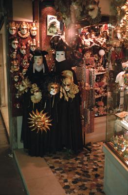Photo: 1995. Venice, CONTAX T2 Carl Zeiss T* Sonnar 2.8/38, Agfa