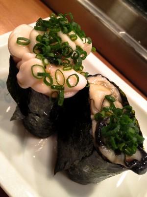 Oyster Gunkan-rolls