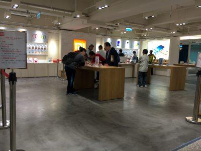 Apple Store? No Xiaomi Store.