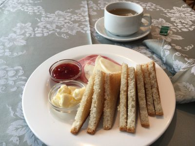 "Photo: ""Continental breakfast. Tea or Coffee."""