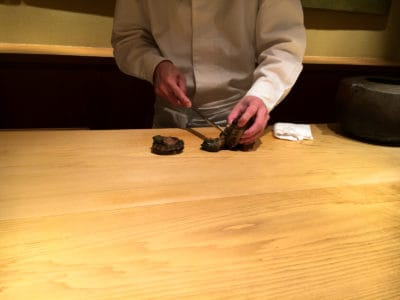 "Photo: ""Sushi chef on Tabelog #1."""